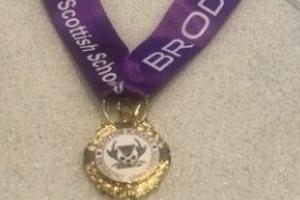 Scottish Schools Swimming Gold Medal